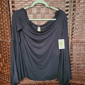NWT free people * birds of paradise top